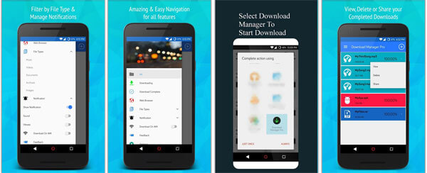 اپلیکیشن Download Manager Pro