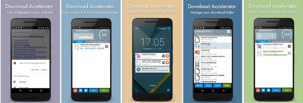 اپلیکیشن Download Manager Accelerator