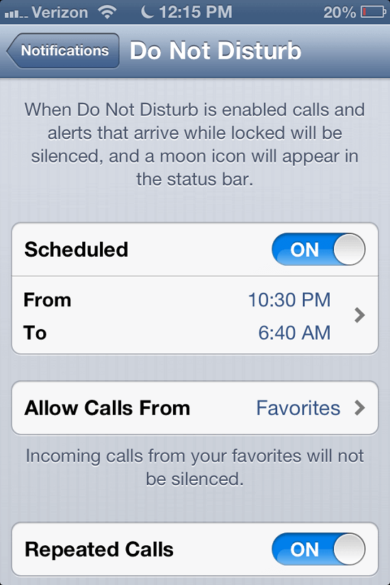 Repeat-caller-alerts-in-Do-Not-Disturb-mode