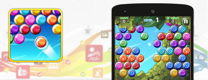 معرفی بازی Bubble Shooter Friends
